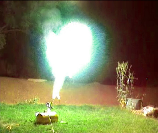 Fireball Air Cannon | Inventgeek